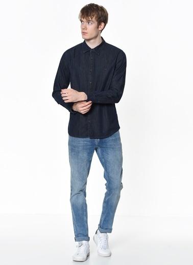 Lee Cooper Jean Gömlek Mavi